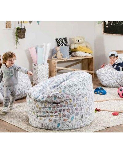 Puff tapizado sillón 956-29