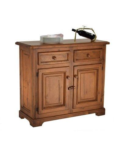 Aparador buffet rustico madera  962-a003