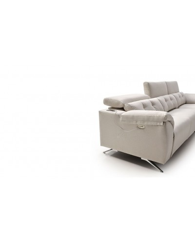 Sofa chaise longue relax motor moderno 796-05