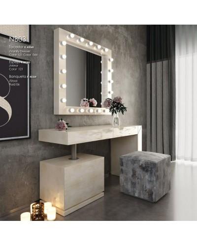 Tocador de maquillaje dormitorio diseño 397-NB03