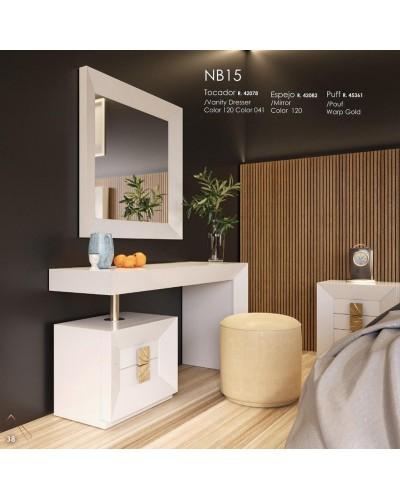 Tocador de maquillaje dormitorio diseño 397-NB15