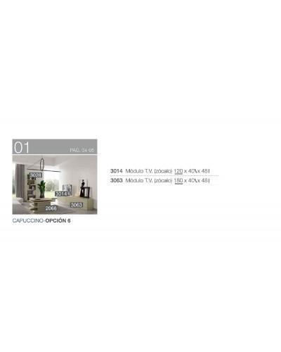 Mueble TV moderno diseño 194-3014-3063