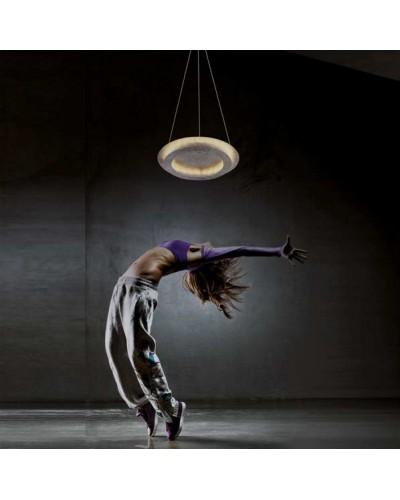 Lámpara LED de techo para salón metálica moderna 1099-74