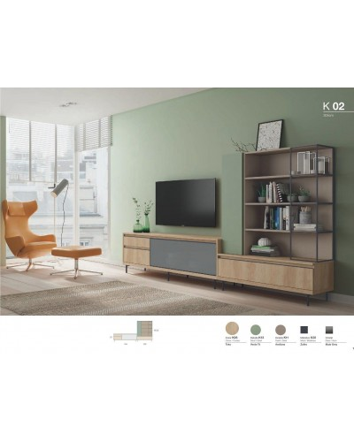 Mueble comedor moderno diseño 301-k02