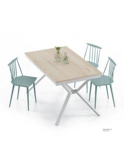 Mesa de comedor moderna fija 301-KX2