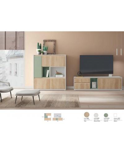 Mueble comedor moderno diseño 301-K08