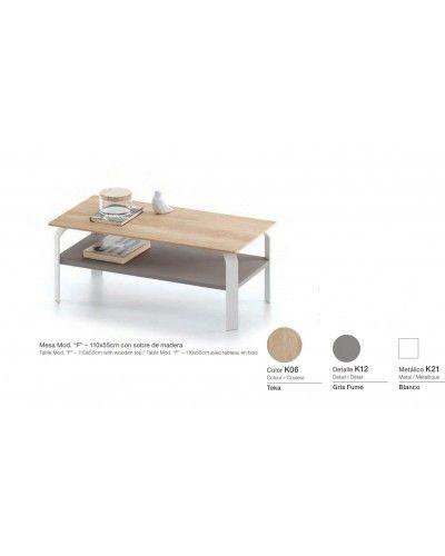 Mesa centro moderna diseño 301-kF2