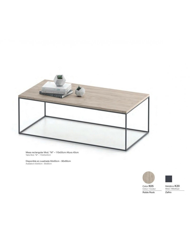 Mesa centro moderna diseño 301-kM1