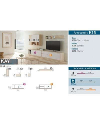 Mueble comedor moderno diseño 301-K15