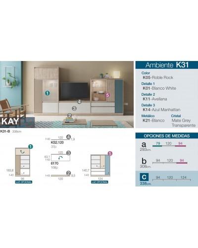 Mueble comedor moderno diseño 301-K31