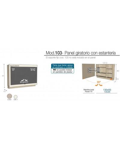 Mueble TV moderno diseño 301-K52