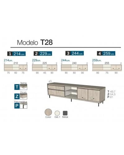 Mueble TV moderno diseño 301-K53