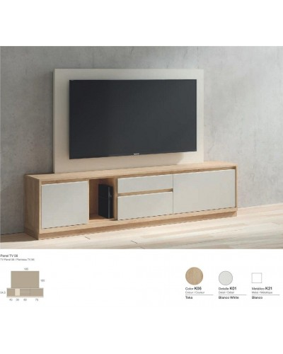 Mueble TV moderno diseño 301-K56
