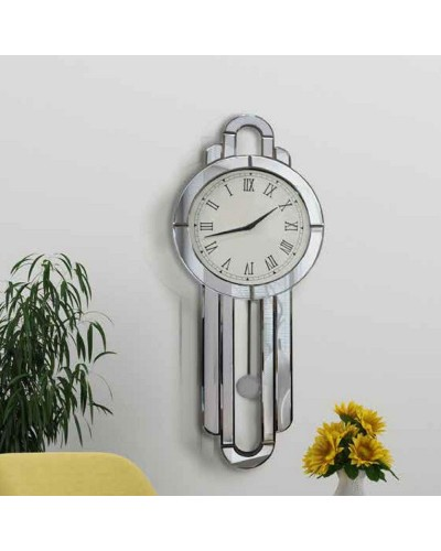 Reloj pendulo espejo pared diseño 1362-NT-088