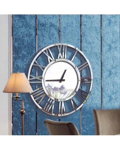 Reloj espejo pared redondo diseño 1362-2003L