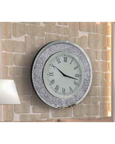 Reloj espejo pared redondo diseño 1362-  NT-086