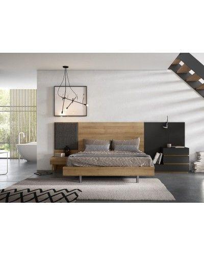 Dormitorio matrimonio moderno beladur 270-BH05