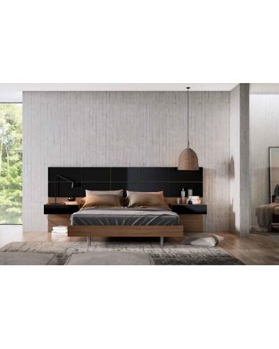 Dormitorio matrimonio moderno beladur 270-BH33