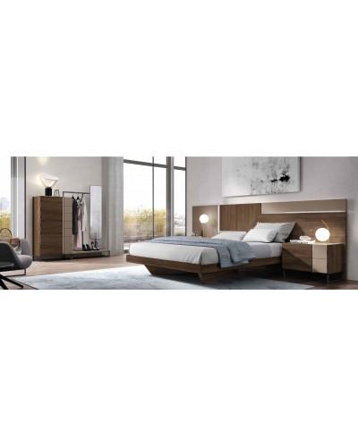 Dormitorio matrimonio moderno diseño actual 69-CO001