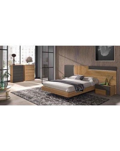 Dormitorio matrimonio moderno diseño actual 69-CO002