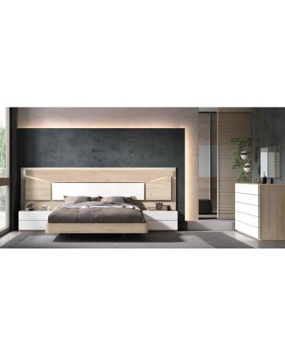 Dormitorio matrimonio moderno diseño actual 69-CO004
