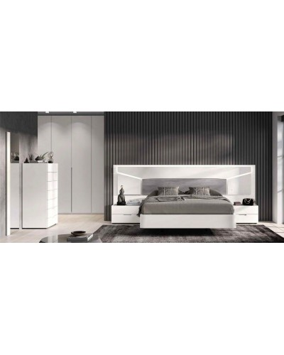 Dormitorio matrimonio moderno diseño actual 69-CO005