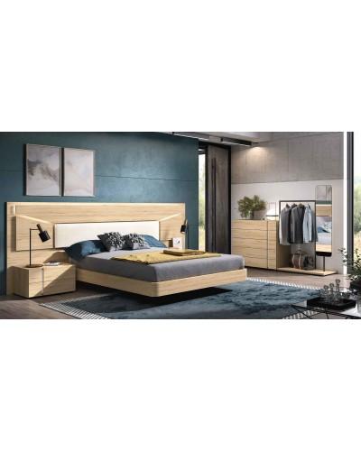 Dormitorio matrimonio moderno diseño actual 69-CO006