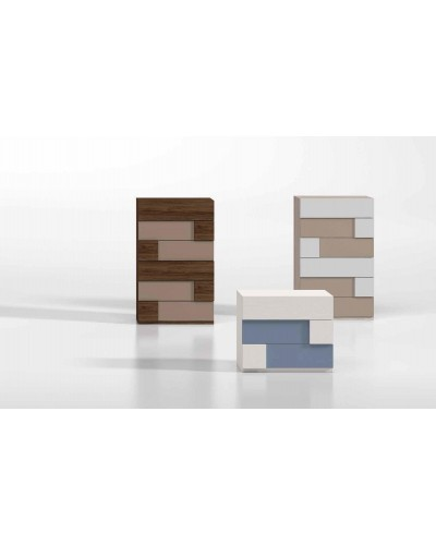 Dormitorio matrimonio moderno diseño actual 69-CO007