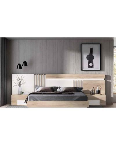 Dormitorio matrimonio moderno diseño actual 69-CO008