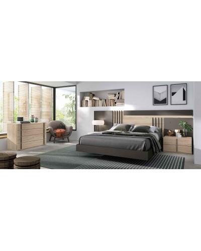 Dormitorio matrimonio moderno diseño actual 69-CO009