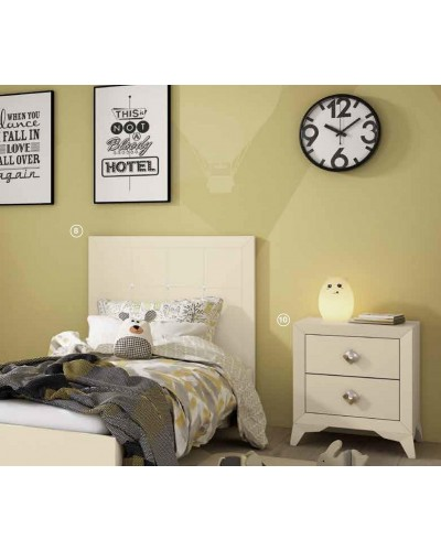 Dormitorio Juvenil infantil colonial moderno diseño 1374-08B