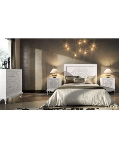 Dormitorio matrimonio colonial moderno diseño 1374-C01