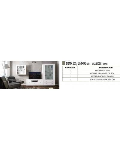 Mueble comedor colonial moderno diseño 1374-CM02