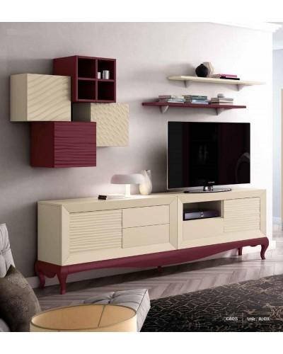 Mueble comedor colonial moderno diseño 1374-CM03