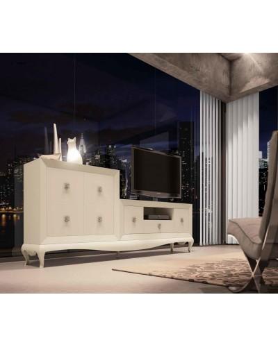 Mueble comedor colonial moderno diseño 1374-CM05