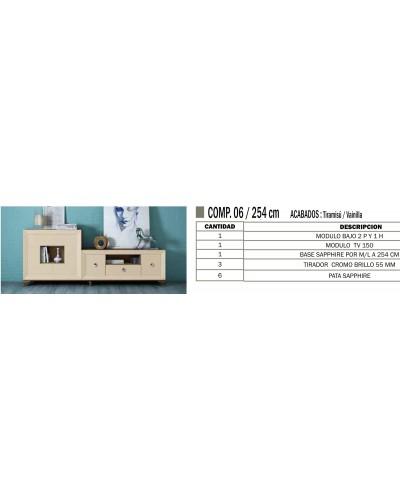 Mueble comedor colonial moderno diseño 1374-CM06
