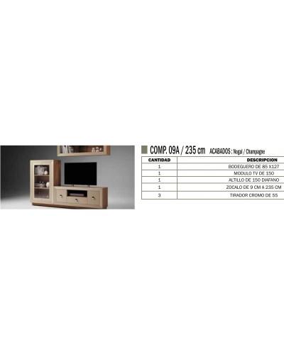 Mueble comedor colonial moderno diseño 1374-CM09A