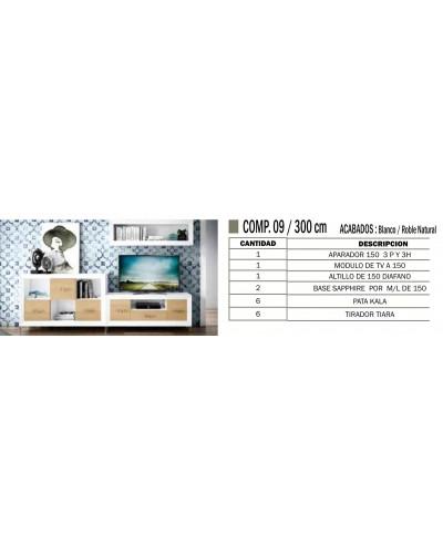 Mueble comedor colonial moderno diseño 1374-CM09