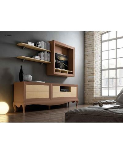 Mueble comedor colonial moderno diseño 1374-CM10