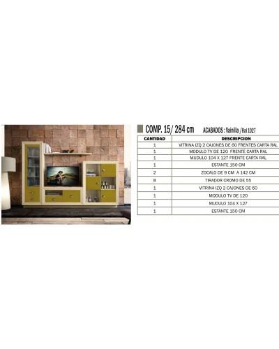 Mueble comedor colonial moderno diseño 1374-CM15