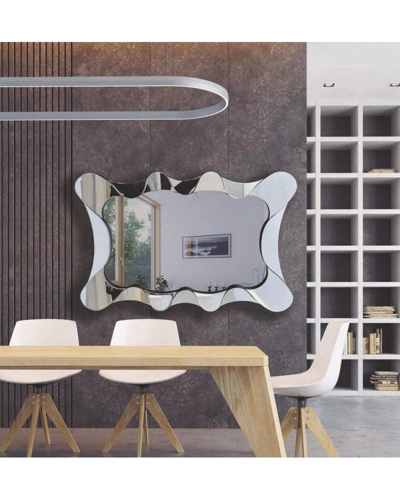 Espejo decorativo rectangular diseño 1362-RS3105