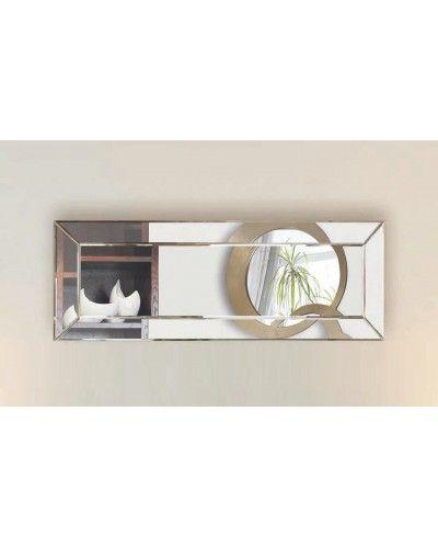 Espejo decorativo rectangular diseño 1362-150