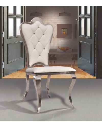 Silla metalica colonial diseño 1362-FT 121