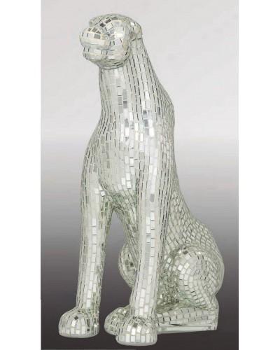 Figura decorativa LEOPARDO MOSAICO ESPEJO  1362-SP 1911