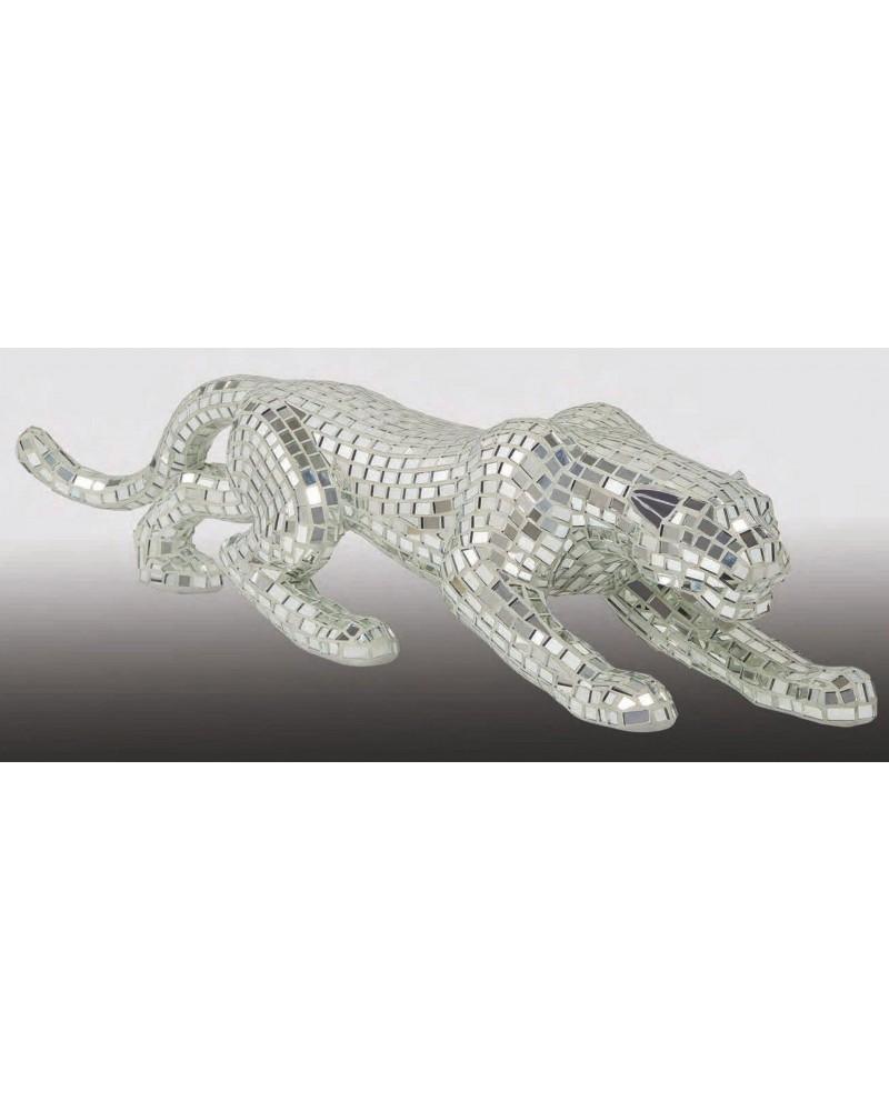 Figura decorativa cristal PANTERA MOSAICO ESPEJO 1362-SP 1912