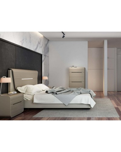 Dormitorio moderno colonial diseño 1430-SD02