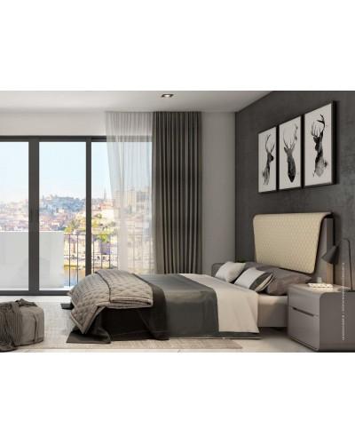 Dormitorio moderno colonial diseño 1430-SD04