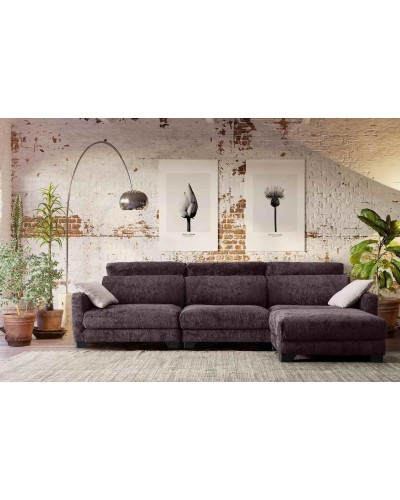 Sofa Cheslongue Moderno diseño 1140-071
