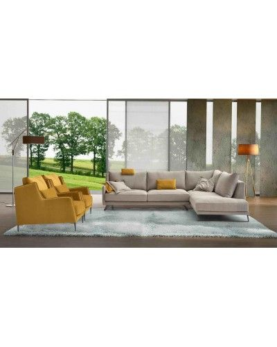 Sofa Cheslongue Moderno diseño 1140-189