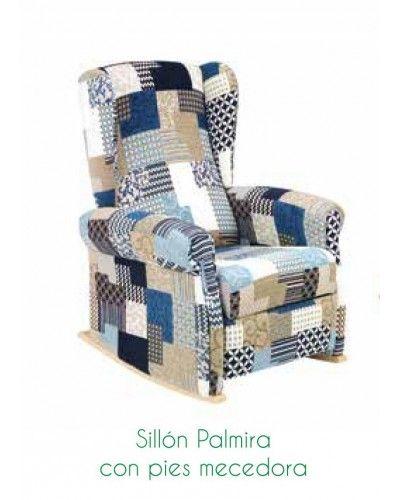 Sillon mercedara moderno tapizado 46-palmira